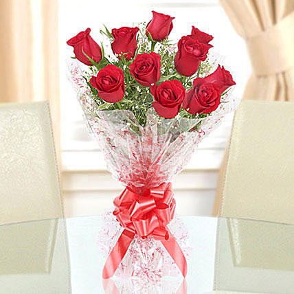 Perfect Red Rose Bouquet