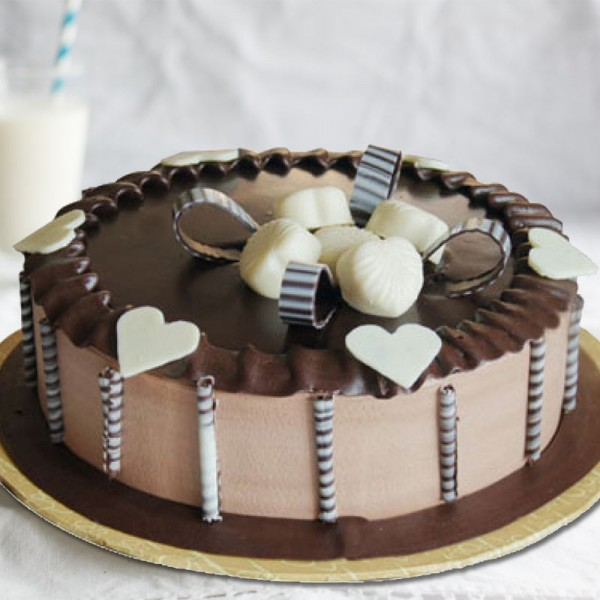 Satisfying Choco Mocha Cake