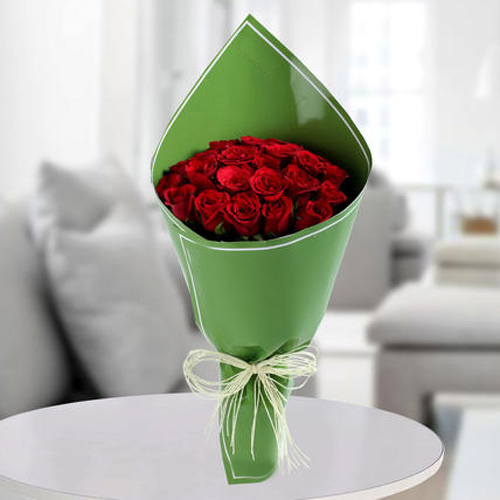 Poetic Red Rose Bunch