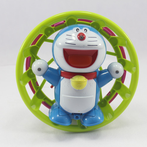 Doraemon with Circling Flashing Lights and Music