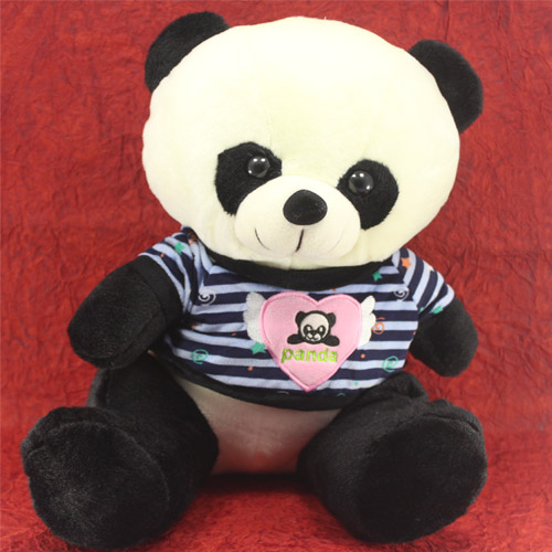 Fluffy Panda Soft Toy