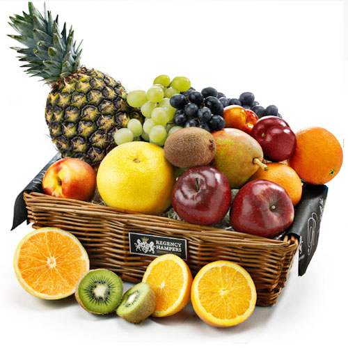 Nutritious Assorted Fruits Basket