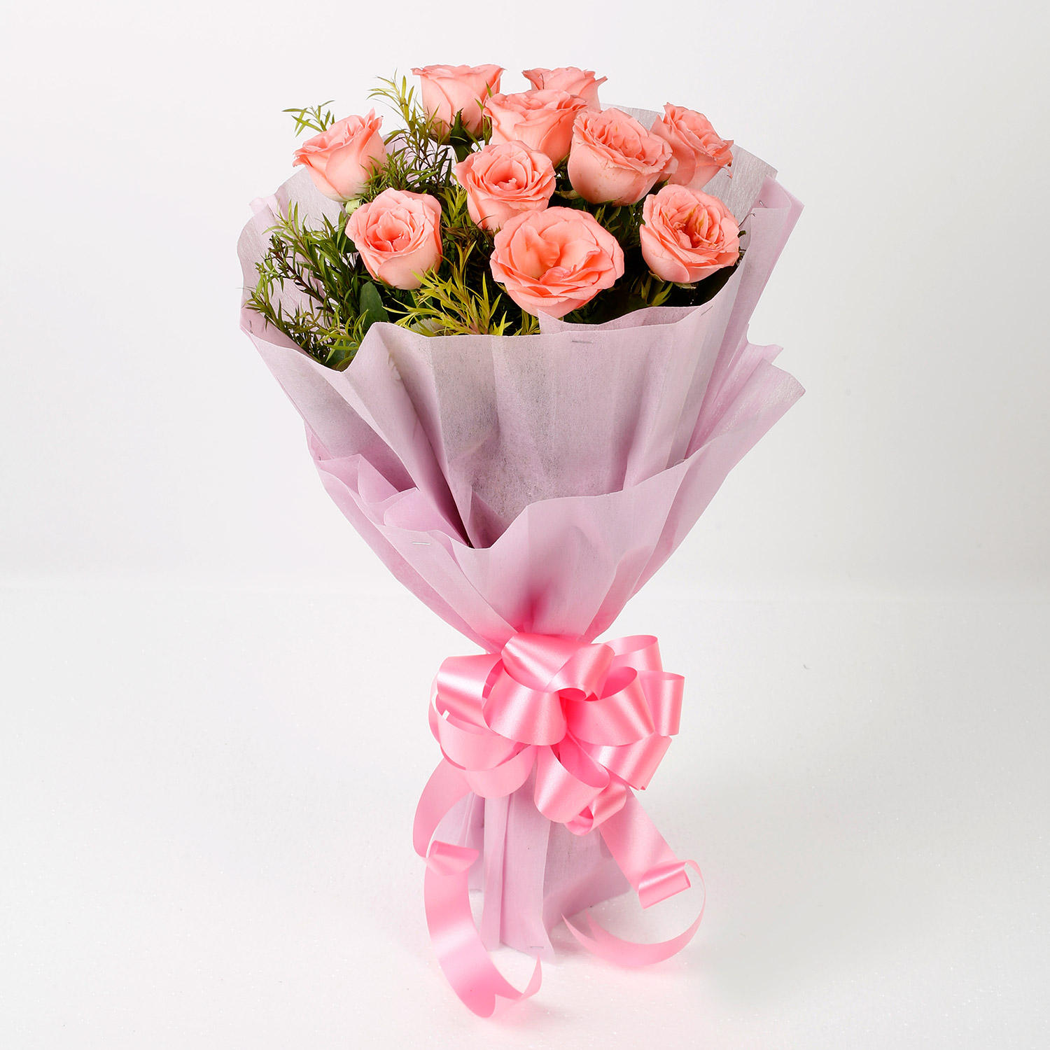 Notable Pink Rose Bouquet