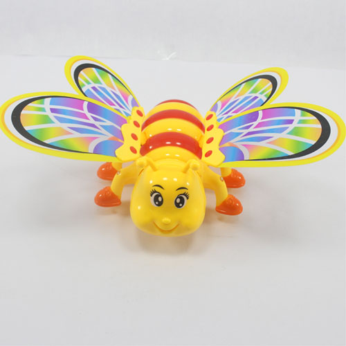 Musical Crawling Bee Small Toy