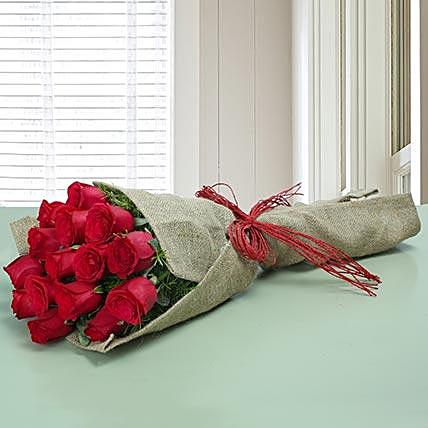 Frail Red Rose Bouquet
