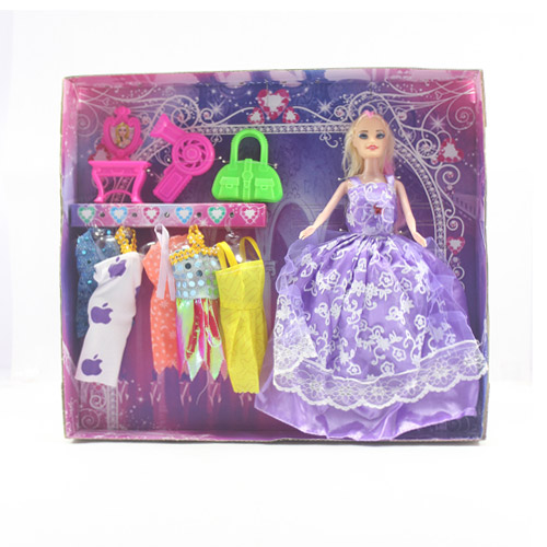 Princess Doll with Fashions and Accessories