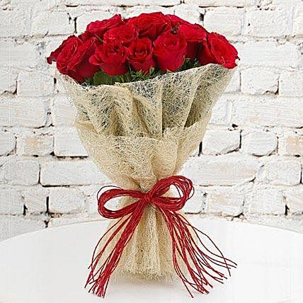 Romance Red Rose Bouquet